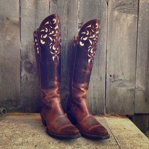 Ariat Knee High Western Boots